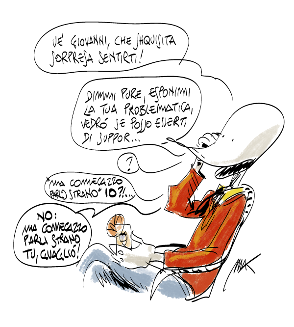 Makkox parla strano, retroscena Internazionale da Makkox.it